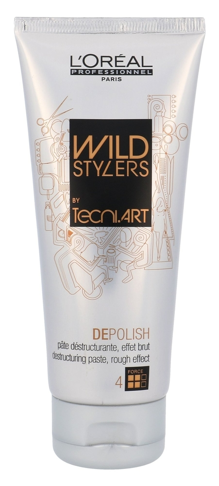 L/oreal Professionnel Wild Stylers Depolish Hair Gel 100ml (Strong Fixation) oμορφια   μαλλιά   styling μαλλιών   gel μαλλιών