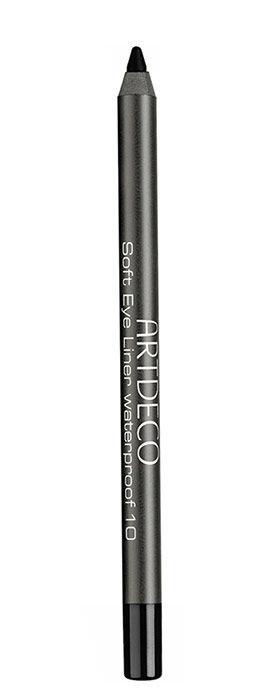Artdeco Soft Eye Liner Eye Pencil 1,2gr Waterproof 10 Black oμορφια   μακιγιάζ   μακιγιάζ ματιών   μολύβια ματιών