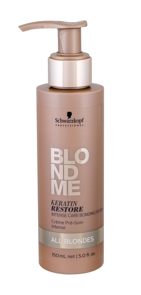 Schwarzkopf Blond Me Keratin Restore Hair Balm 150ml (Blonde Hair)