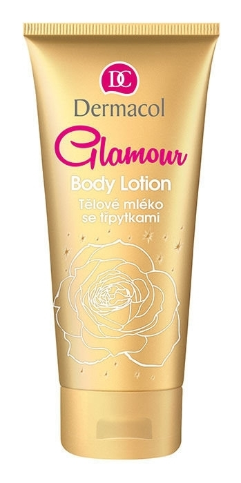 Dermacol Glamour With Glitters Body Lotion 200ml oμορφια   σώμα   κρέμες σώματος