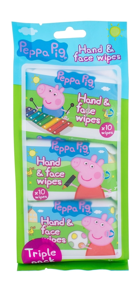Peppa Pig Peppa Hand & Face Wipes Cleansing Wipes 30pc (All Skin Types)