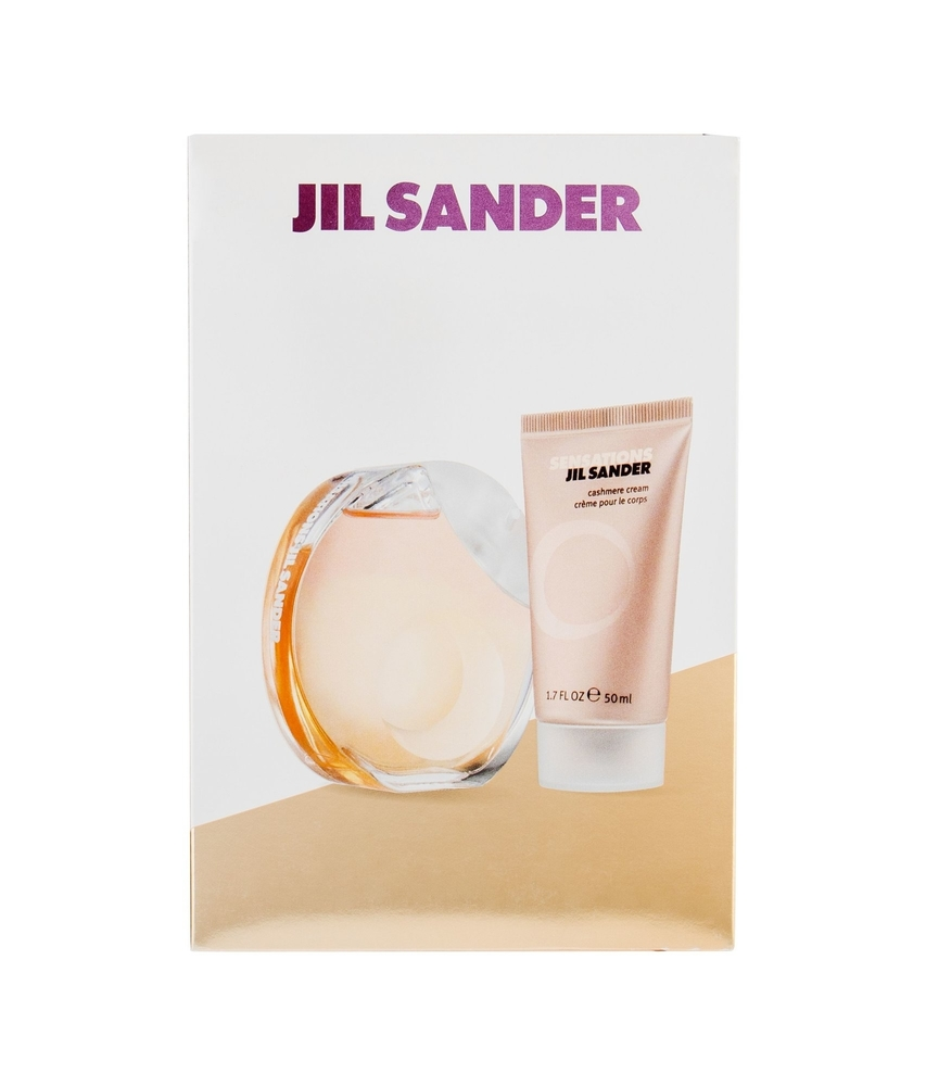 Jil Sander Sensations Eau De Toilette 40Ml - Set: Eau De Toilette 40Ml & 50Ml Body Cream