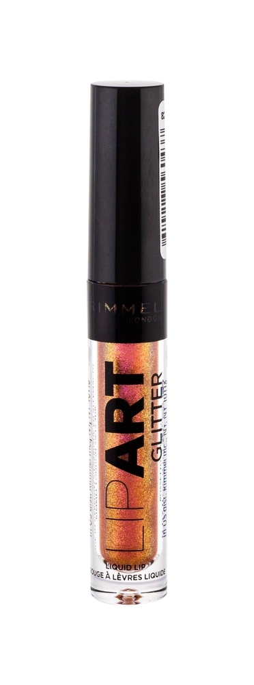 Rimmel London Lip Art Glitter Lip Gloss 2ml With Glitter 130 Hands Off