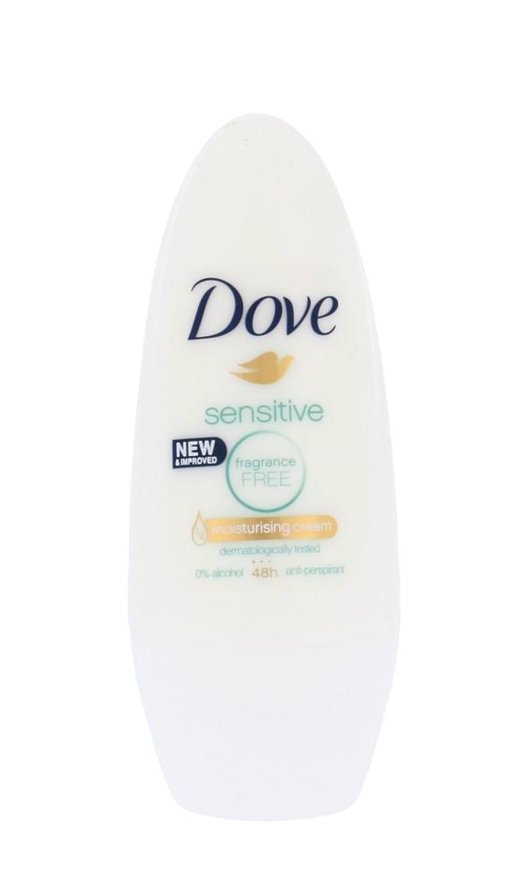 Dove Sensitive Antiperspirant 50ml Alcohol Free 48h (Roll-on)