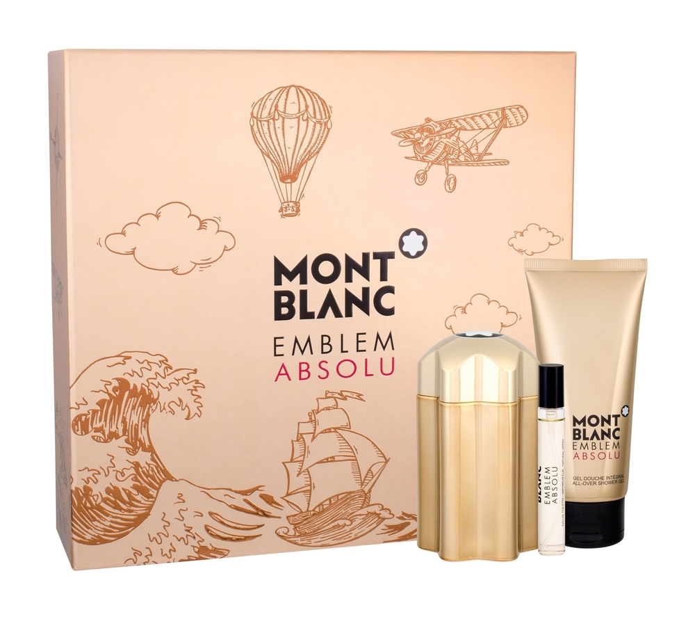 Montblanc Emblem Absolu Eau De Toilette 100ml Combo: Edt 100 Ml + Edt 7,5 Ml + Shower Gel 100 Ml