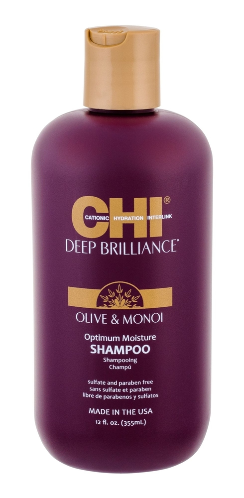Farouk Systems Chi Deep Brilliance Optimum Moisture Shampoo 355ml (Damaged Hair) oμορφια   μαλλιά   φροντίδα μαλλιών   σαμπουάν