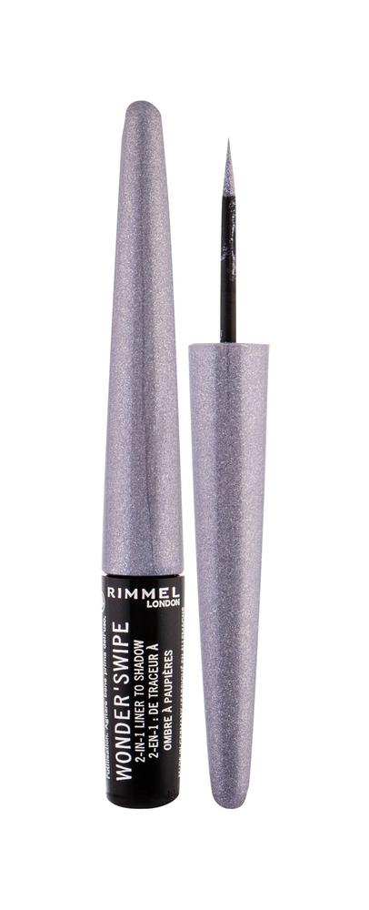 Rimmel London Wonder/swipe 2in1 Eye Line 1,7ml 001 Slay (Liquid)