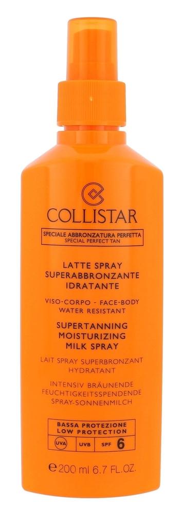 Collistar Special Perfect Tan Supertanning Moisturizing Milk Spray Sun Body Lotion 200ml Spf6