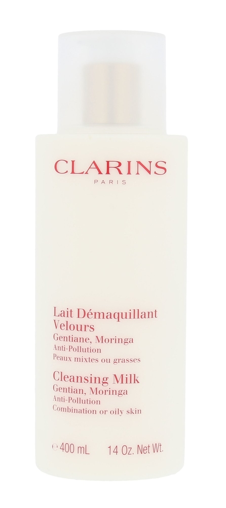 Clarins Cleansing Milk With Gentian Cleansing Milk 400ml (Oily - Mixed) oμορφια   πρόσωπο   καθαρισμός προσώπου