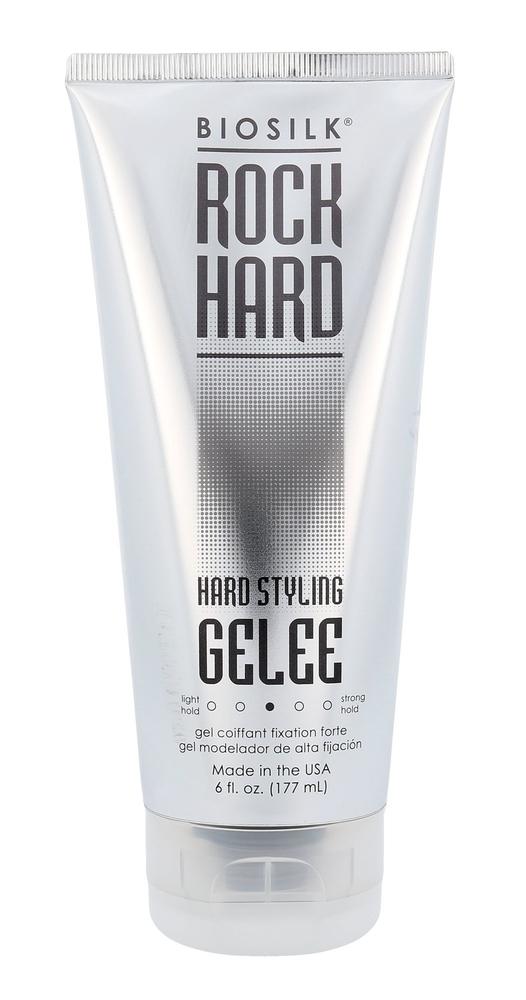 Farouk Systems Biosilk Rock Hard Hard Styling Gelee Hair Gel 177ml (Medium Fixat oμορφια   μαλλιά   styling μαλλιών   gel μαλλιών