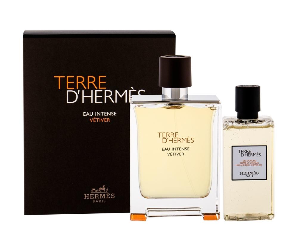 Hermes Terre D/ Eau Intense Vetiver Eau De Parfum 100ml - Set