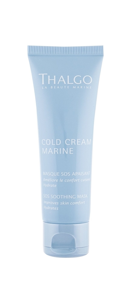 Thalgo Cold Cream Marine Sos Soothing Mask Face Mask 50ml (All Skin Types - For  oμορφια   πρόσωπο   μάσκες ομορφιάς