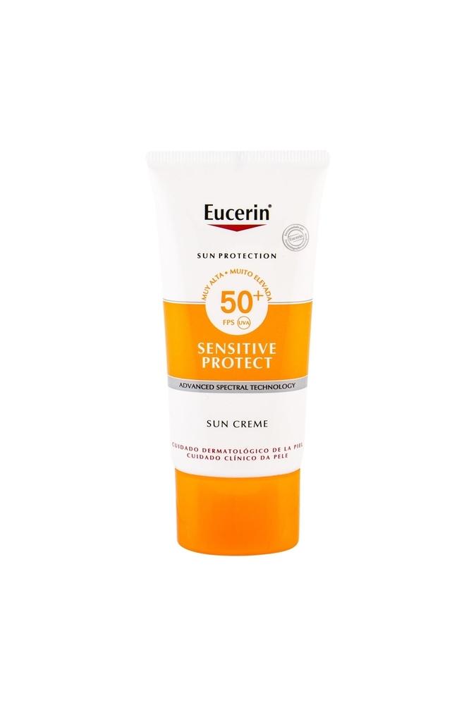 Eucerin Sun Sensitive Protect Sun Creme Face Sun Care 50ml Waterproof Spf50+