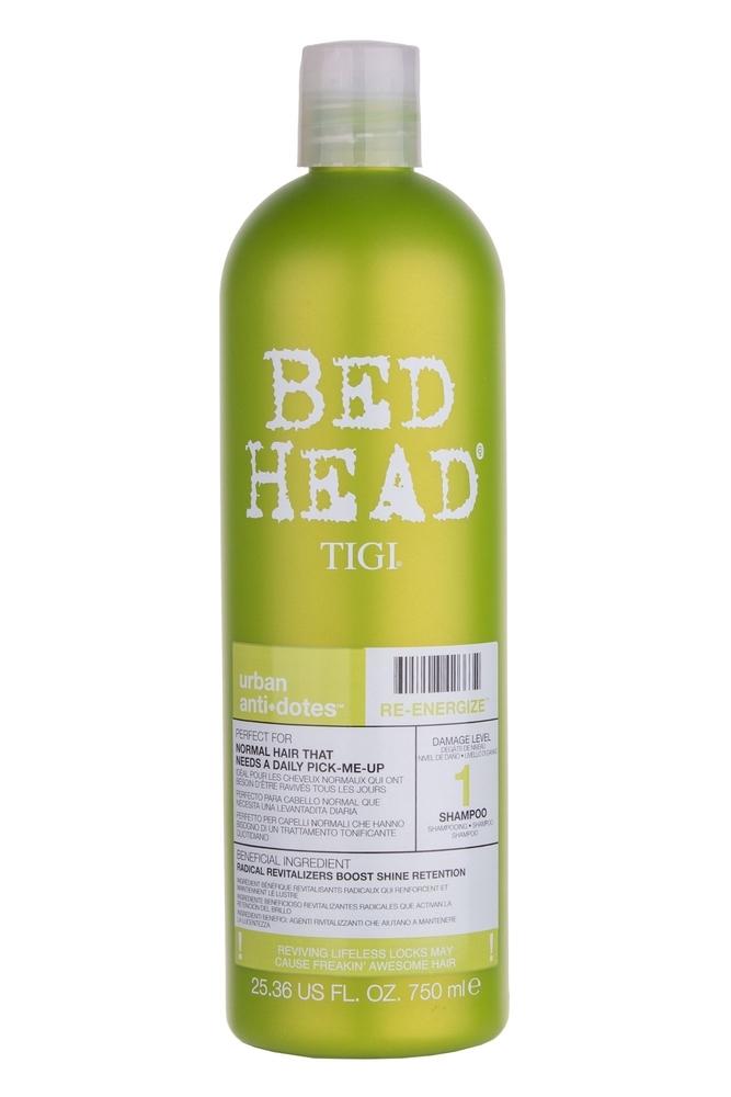 Tigi Bed Head Re-energize Shampoo 750ml (Normal Hair) oμορφια   μαλλιά   φροντίδα μαλλιών   σαμπουάν