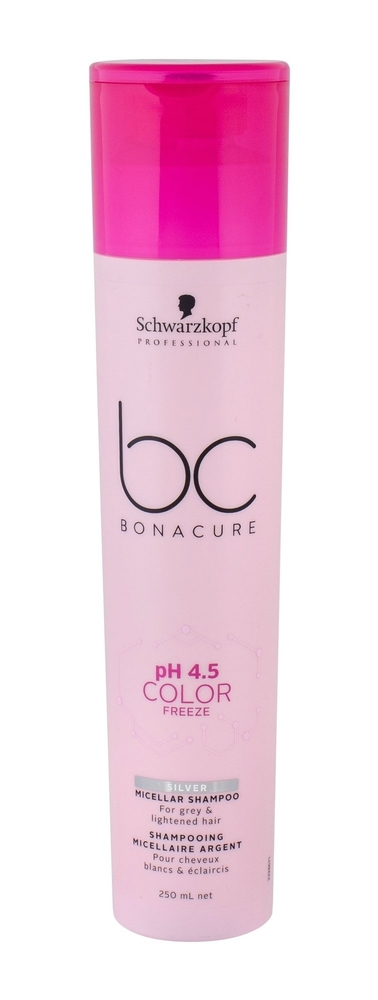 Schwarzkopf Bc Bonacure Ph 4.5 Color Freeze Silver Shampoo 250ml (Colored Hair)