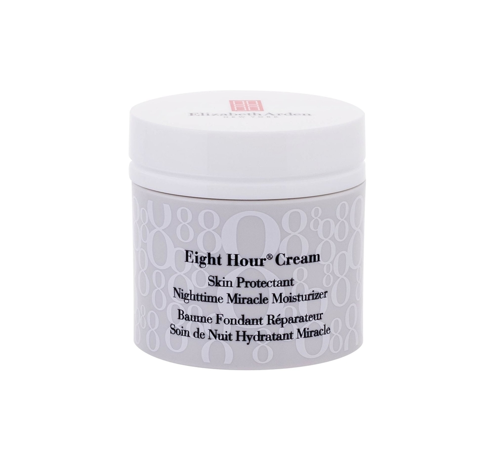 Elizabeth Arden Eight Hour Cream Nighttime Miracle Moisturizer Night Skin Cream 50ml (All Skin Types - For All Ages)