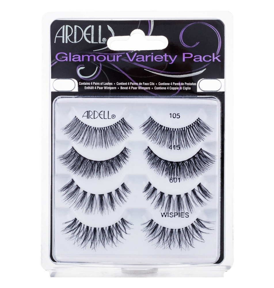 Ardell Glamour 105 False Eyelashes 1pc Black oμορφια   μακιγιάζ   μακιγιάζ προσώπου   αξεσουάρ μακιγιάζ