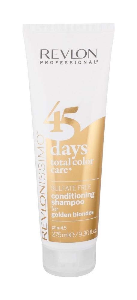 Revlon Professional Revlonissimo 45 Days 2in1 For Golden Blondes Shampoo 275ml (Colored Hair - Blonde Hair)
