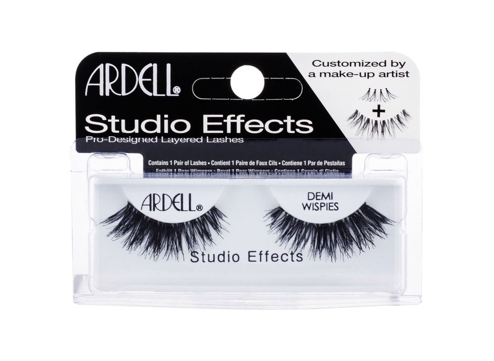 Ardell Studio Effects Demi Wispies False Eyelashes 1pc Black
