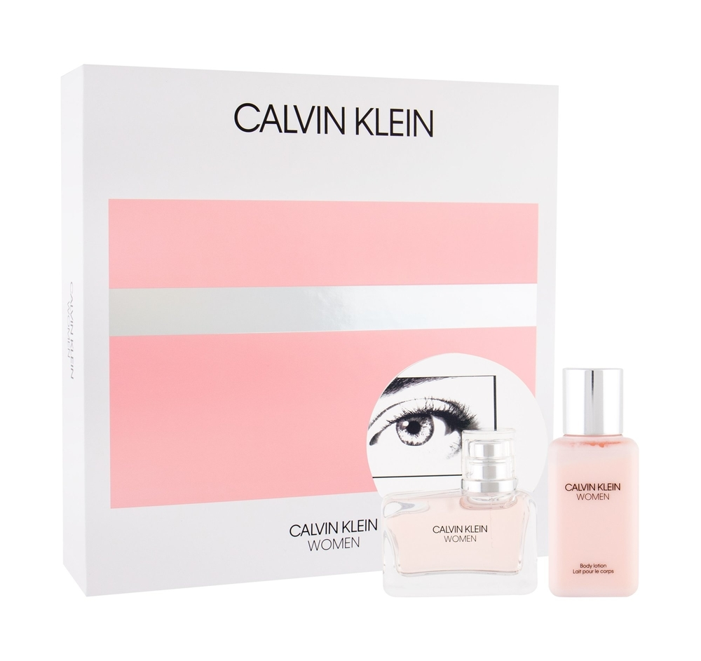 Calvin Klein Women Eau De Parfum 50ml + Body Lotion 100ml