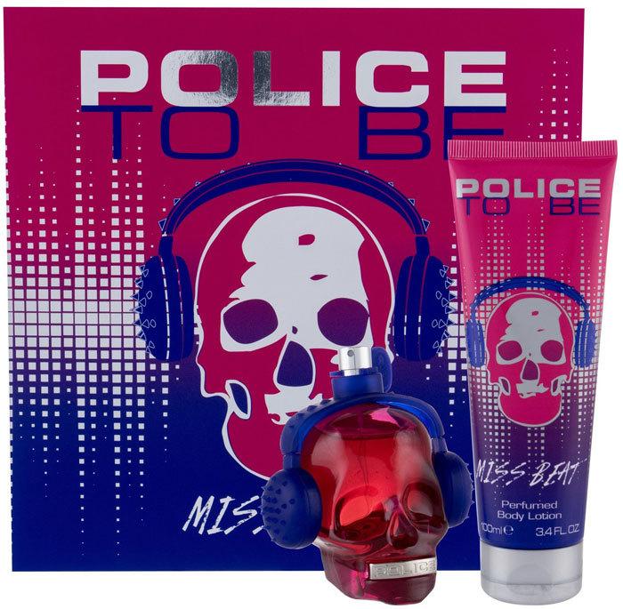 Police To Be Miss Beat Eau de Parfum 75ml Combo: Edp 75 Ml + Body Lotion 100 Ml