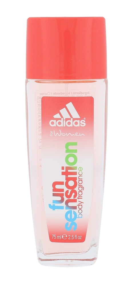 Adidas Fun Sensation For Women Deodorant 75ml Aluminum Free (Deo Spray) oμορφια   αρώματα   αποσμητικά
