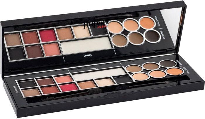 Pupa Pupart S Matt Makeup Palette 001 Red Madness 9,8gr