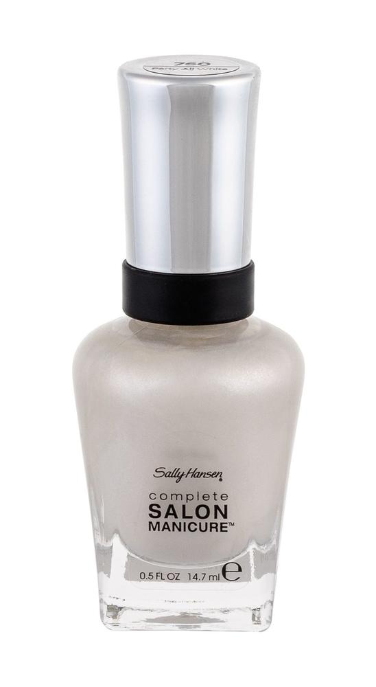 Sally Hansen Complete Salon Manicure Nail Polish 14,7ml 760 Party All White