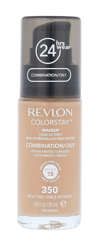 Revlon Colorstay Combination Oily Skin Makeup 30ml 350 Rich Tan