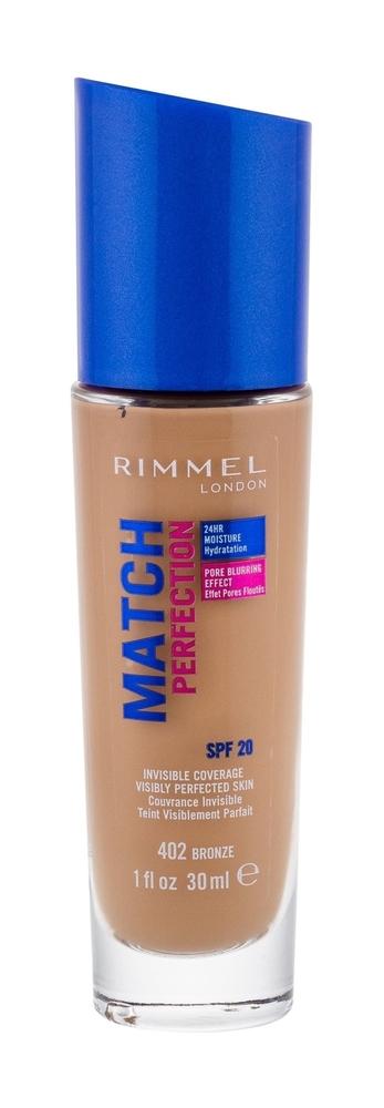 Rimmel London Match Perfection Spf20 Makeup 30ml 402 Bronze