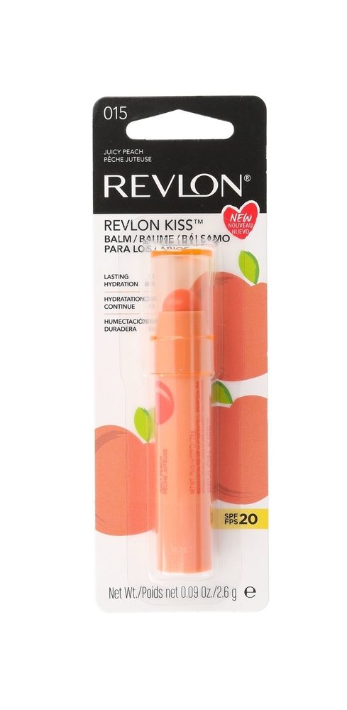 Revlon Kiss Lip Balm 2,6gr Spf20 015 Juicy Peach