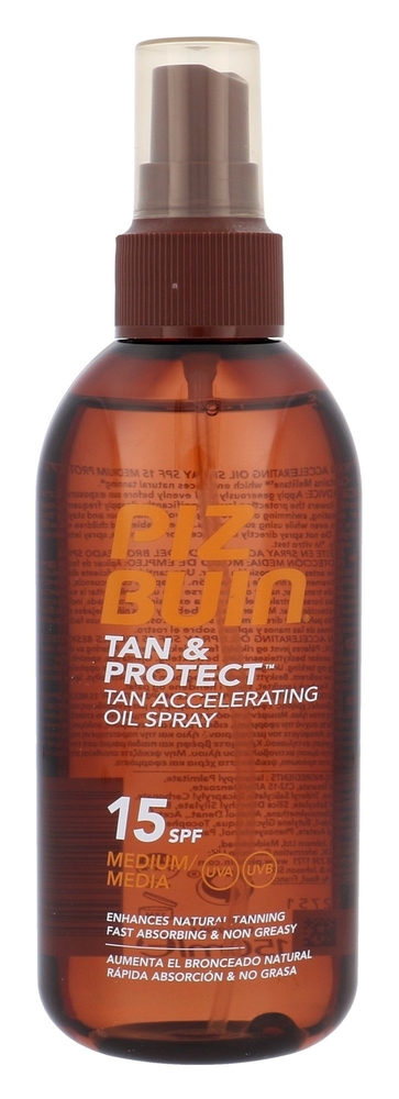 Piz Buin Tan & Protect Tan Accelerating Oil Spray Sun Body Lotion 150ml Spf15 oμορφια   αντηλιακή προστασία   αντηλιακά σώμα πρόσωπο   αντηλιακά