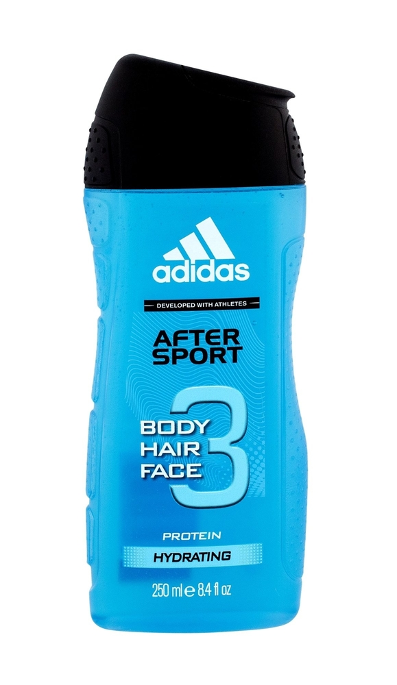 Adidas After Sport 3-In-1 Shower Gel 250Ml