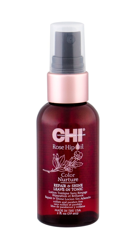 Farouk Systems Chi Rose Hip Oil Color Nurture Leave-in Hair Care 59ml