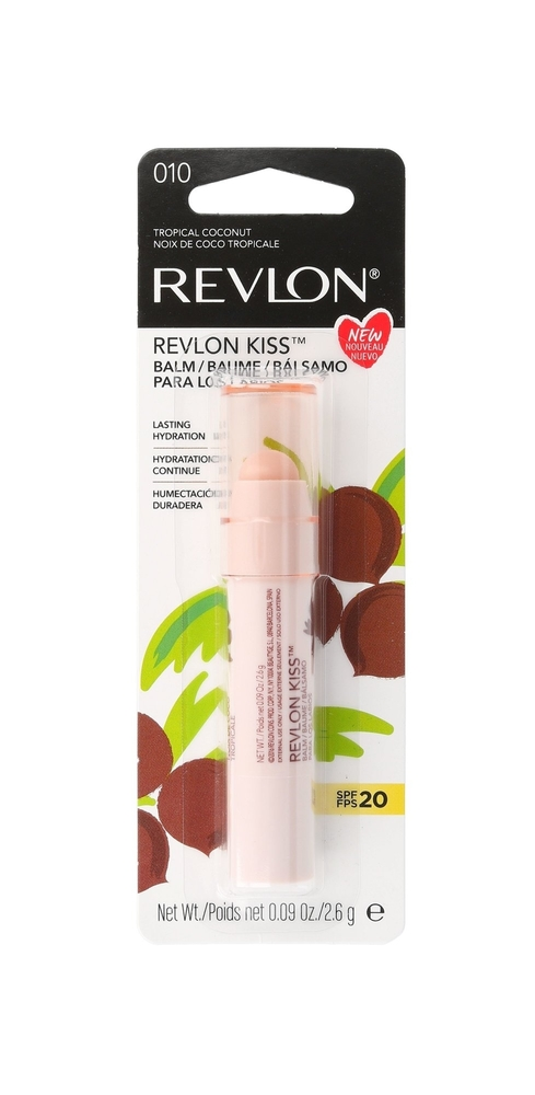 Revlon Kiss Lip Balm 2,6gr Spf20 010 Tropical Coconut