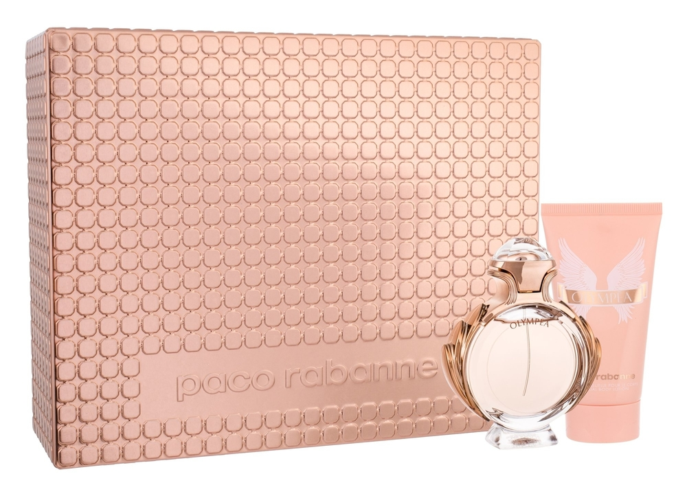 Paco Rabanne Olympea Eau De Parfum 50ml Combo: Edp 50ml + 75ml Body Lotion