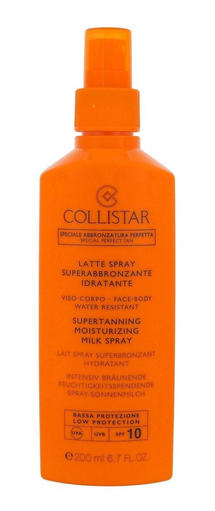 Collistar Special Perfect Tan Supertanning Moisturizing Milk Spray Sun Body Lotion 200ml Spf10