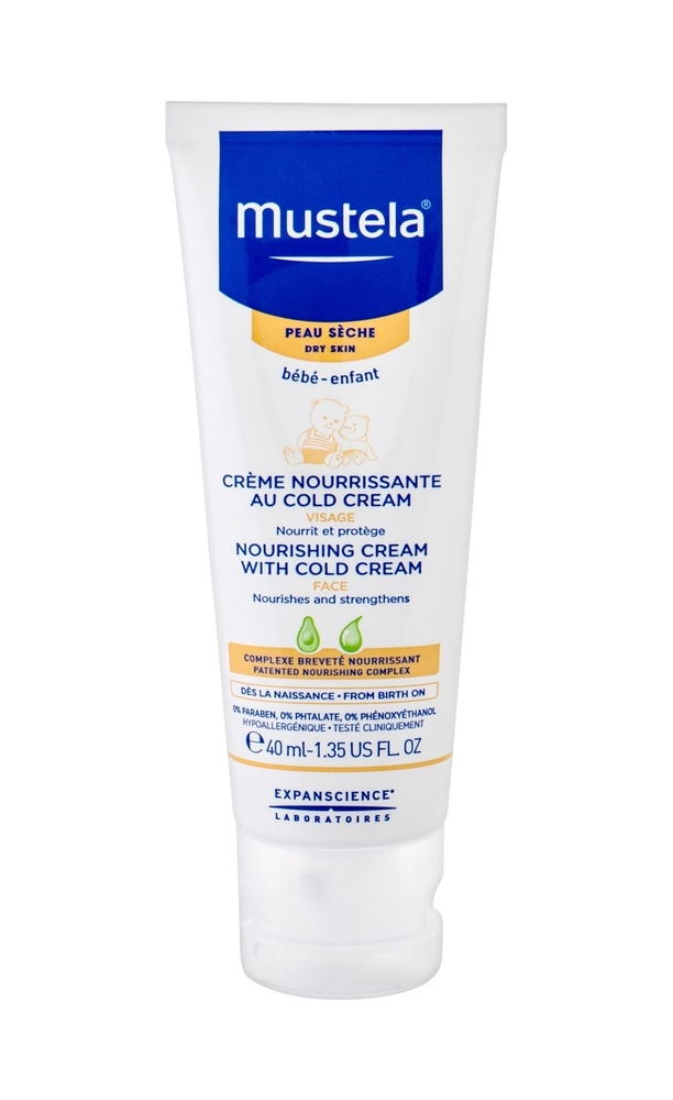 Mustela Bebe Nourishing Cream With Cold Cream Day Cream 40ml (Dry)