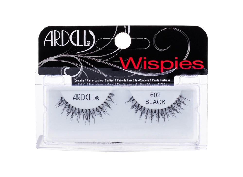 Ardell Wispies 602 False Eyelashes 1pc Black oμορφια   μακιγιάζ   μακιγιάζ προσώπου   αξεσουάρ μακιγιάζ