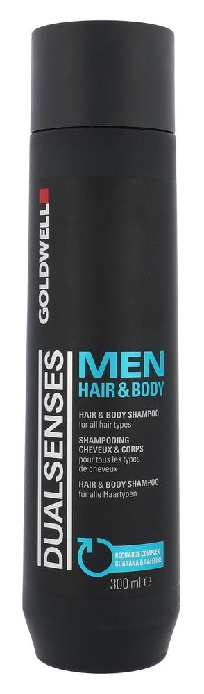 Goldwell Dualsenses For Men Hair & Body Shampoo 300ml (All Hair Types)