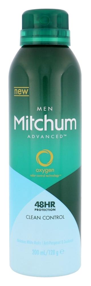 Mitchum Advanced Control Clean Control Antiperspirant 200ml Alcohol Free 48hr (Deo Spray)
