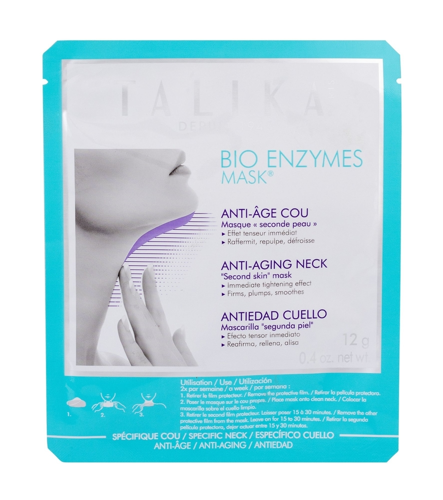 Talika Bio Enzymes Mask Face Mask 12gr (Wrinkles - Mature Skin - All Skin Types)