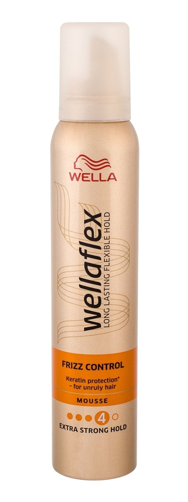 Wella Flex Frizz Control Hair Mousse 200ml (Extra Strong Fixation) oμορφια   μαλλιά   styling μαλλιών   αφροί μαλλιών