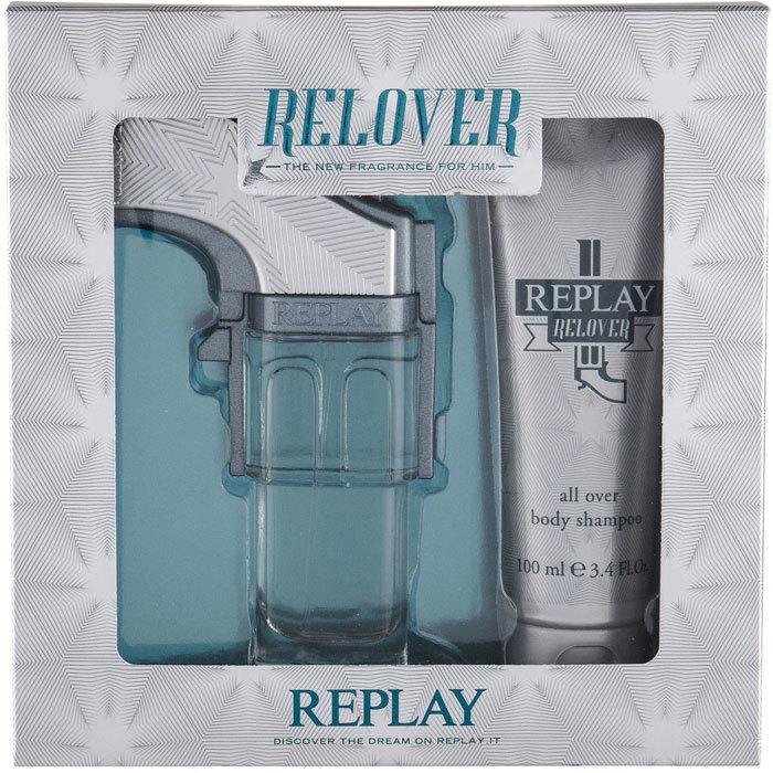 Replay Relover Eau de Toilette 50ml Combo: Edt 50 Ml + Shower Gel 100 Ml