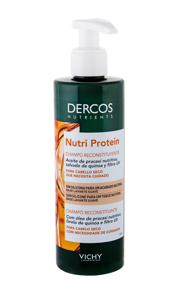Vichy Dercos Nutri Protein Shampoo 250ml (Damaged Hair - Split Ends - Dry Hair)