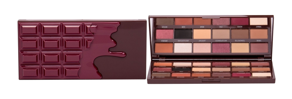 Makeup Revolution London I Heart Revolution Chocolate Eye Shadow 18gr Cranberries And Chocolate