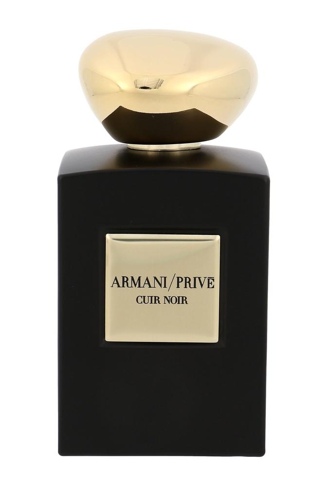 Armani Prive Cuir Noir Intense Eau De Parfum 100ml