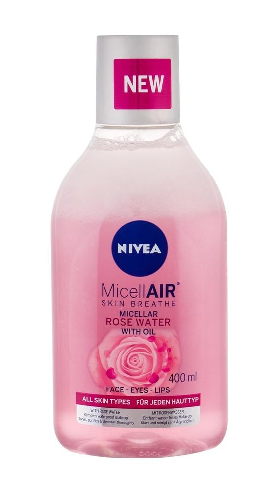 Nivea Micellar Rose Water - Dvoufazova Micelarni Voda S Ruzovou Vodou 400ml