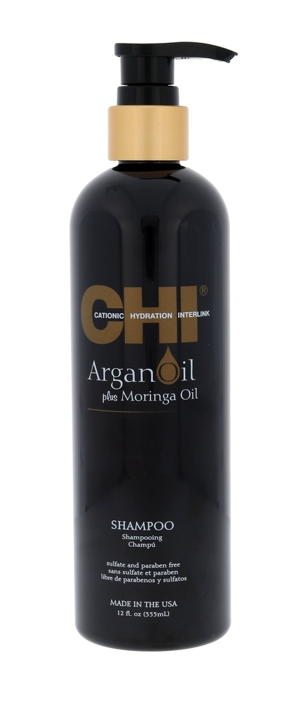 Farouk Systems Chi Argan Oil Plus Moringa Oil Shampoo 355ml (All Hair Types)