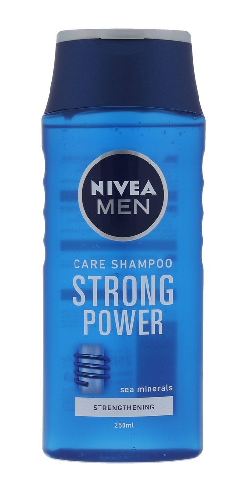 Nivea Men Strong Power Shampoo 250ml (Normal Hair)